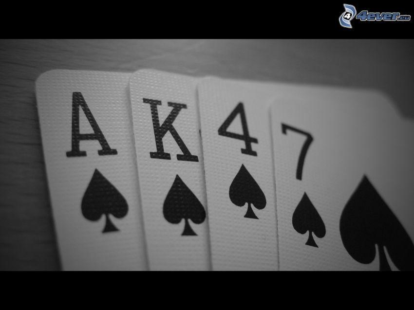 Karten, AK-47