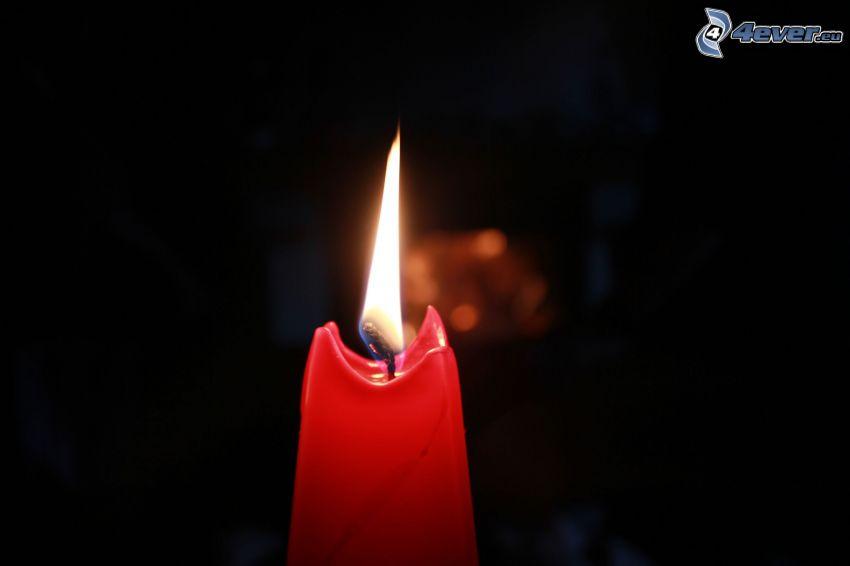 Kerze, Flamme