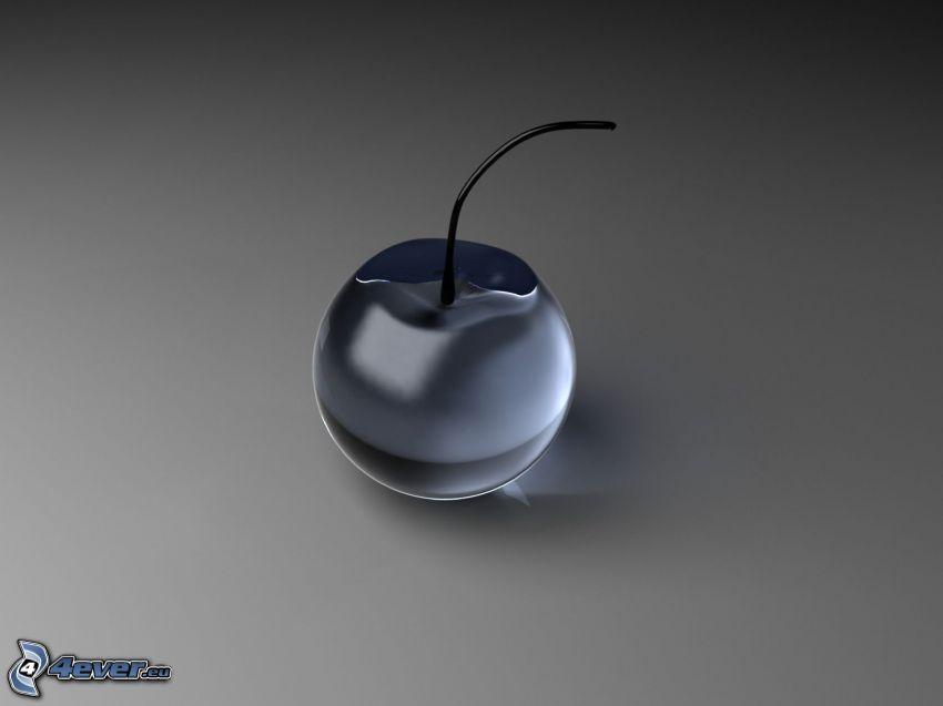 Kirsche, Glas