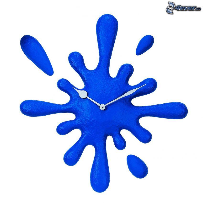 Klecks, Armbanduhr