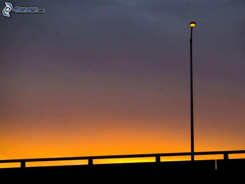 Lampe, Abend