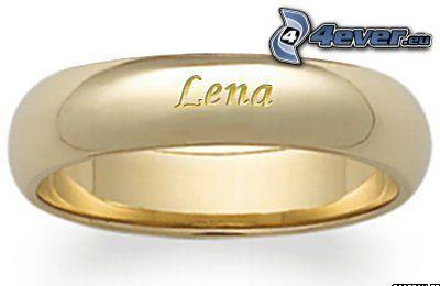 Lena, Ring, Gold