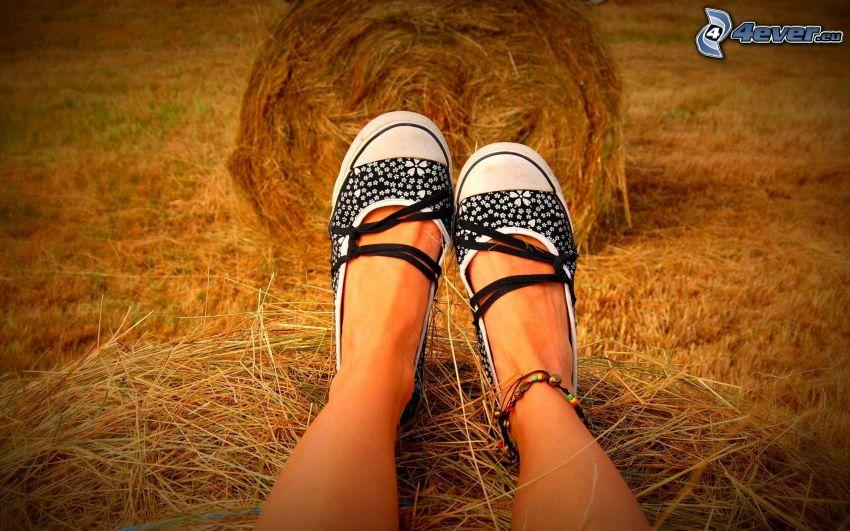 Mädchen Beine
