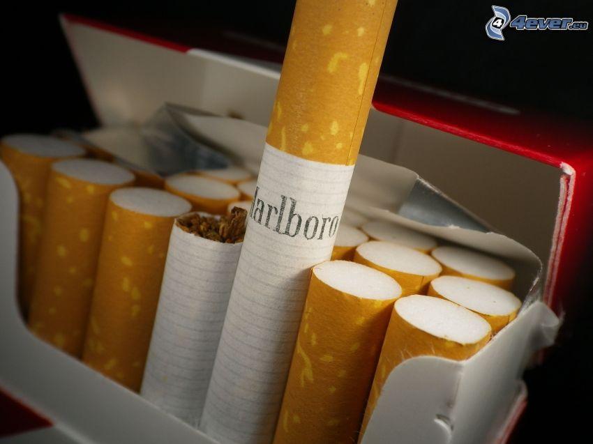 Marlboro, Zigaretten