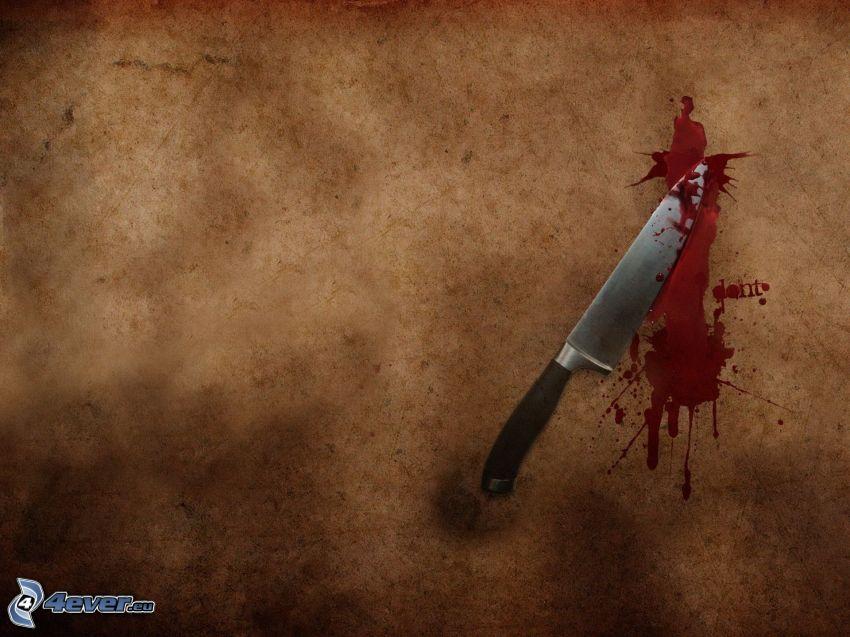 Messer, Blut