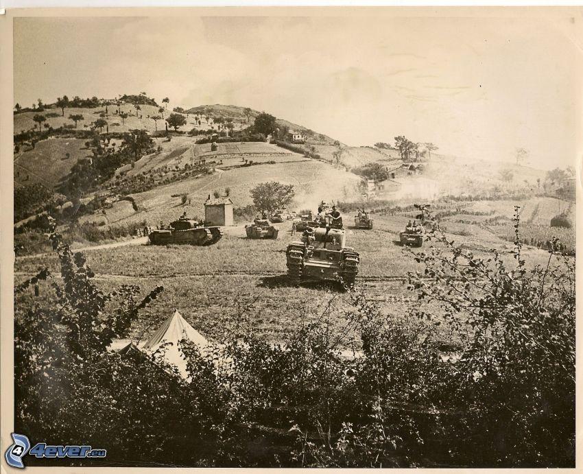 Panzer, Krieg, Foto