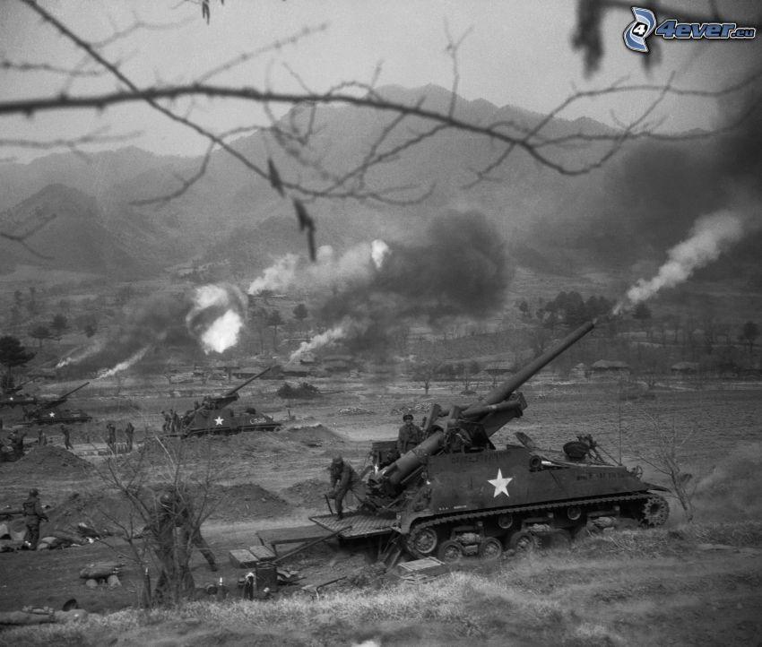 Panzer, Krieg