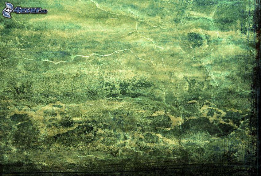 Papier, grüner Hintergrund