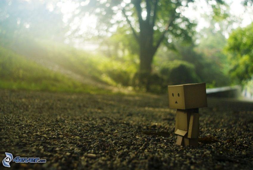 Papier-Robot, Kies