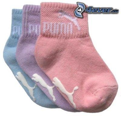 Puma, Socken
