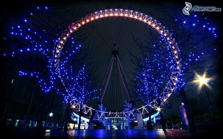 Riesenrad, Nacht