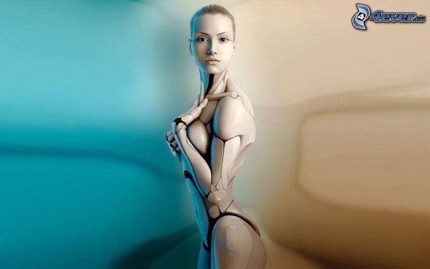 Robot, Frau