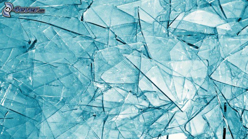 Scherben, Glas