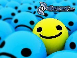smile, Lächeln, Trauer