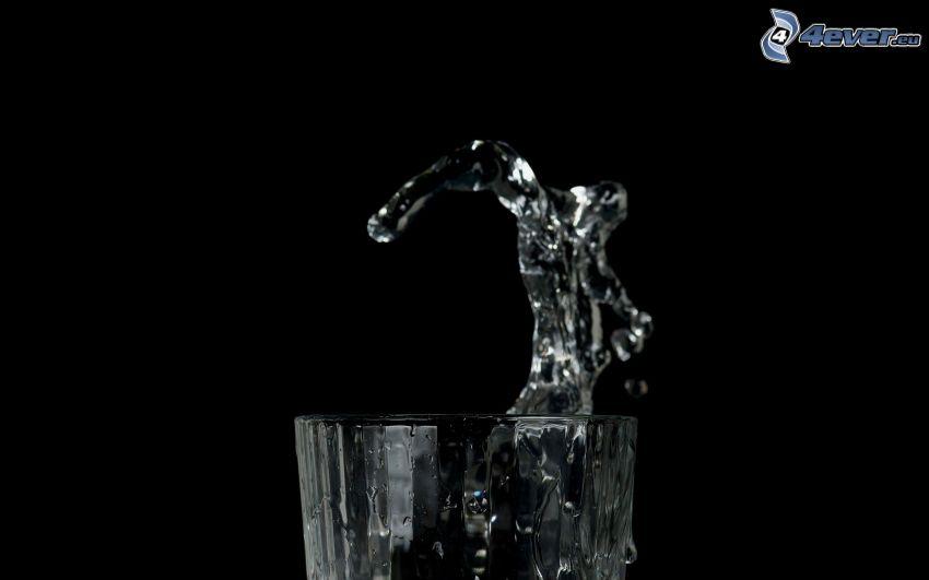 splash, Wasser, Tasse