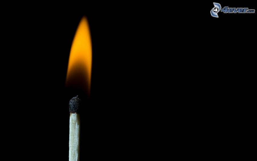 Streichholz, Feuer