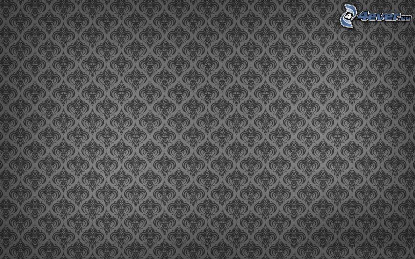 Tapete, grauen Hintergrund