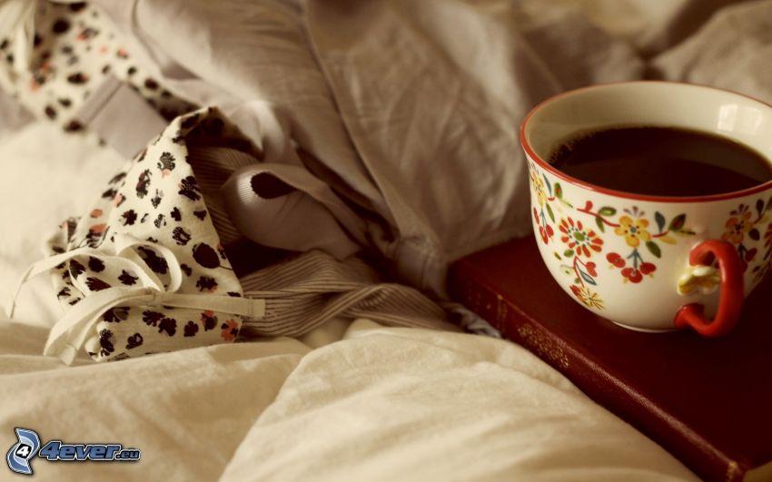 Tasse Kaffee, Bettdecken