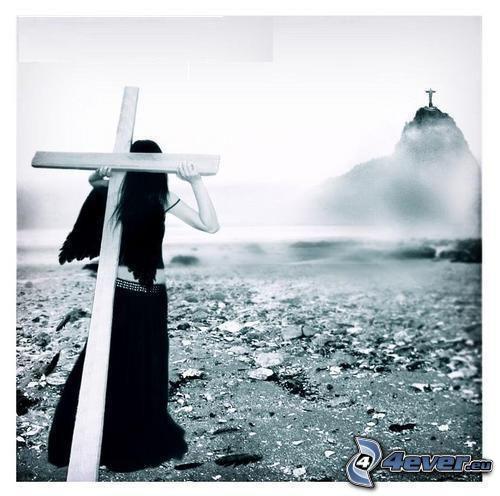 Trauer, Tränen, Gotik