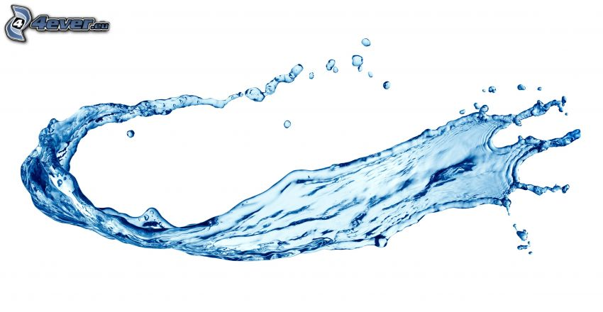 Wasser, splash