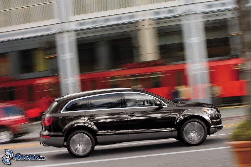 Audi Q7, Geschwindigkeit, City