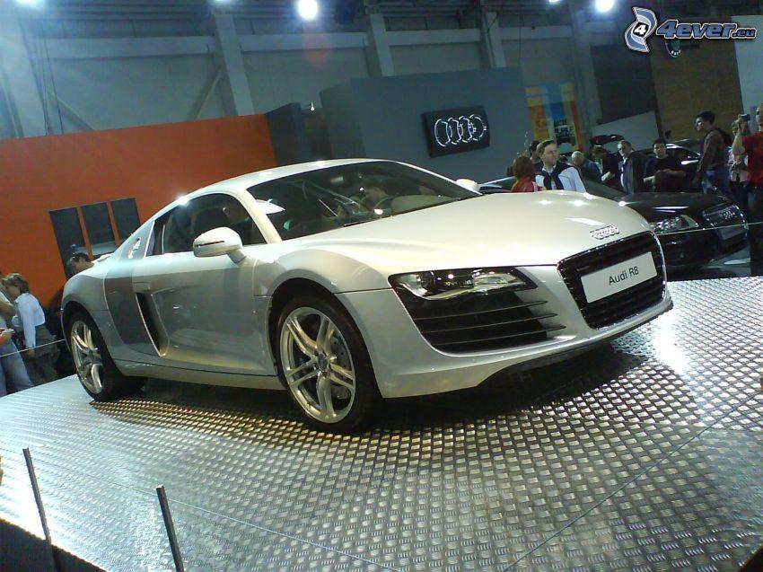 Audi R8, Automobilausstellung, Ausstellung