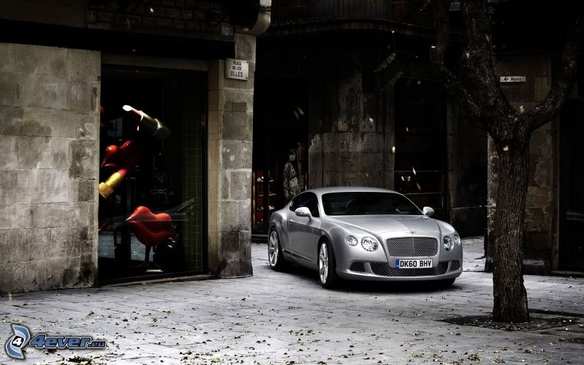 Bentley Continental GT, Straße