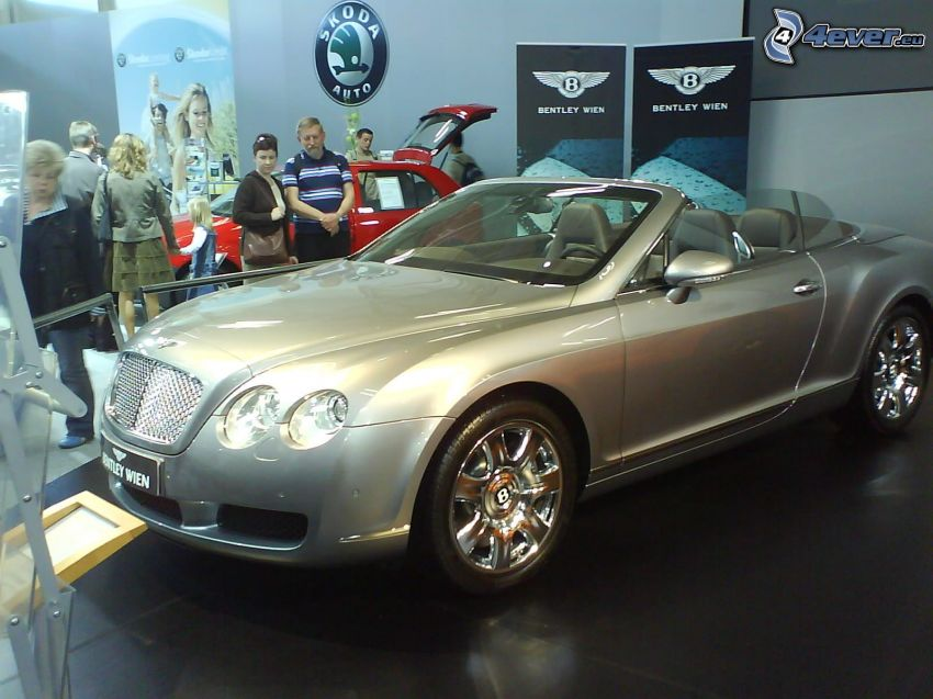 Bentley Continental GTC, Auto