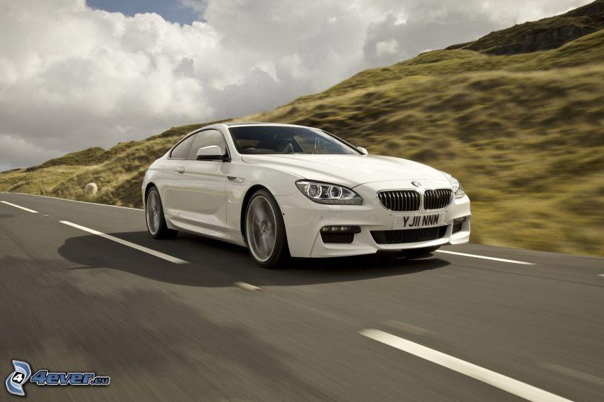 BMW 6 Coupé, Geschwindigkeit, Straße