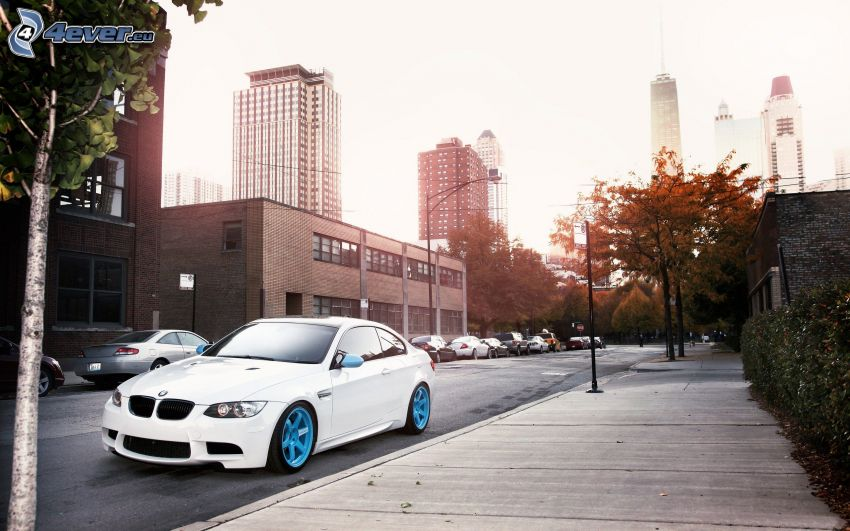 BMW M3, City, Straße