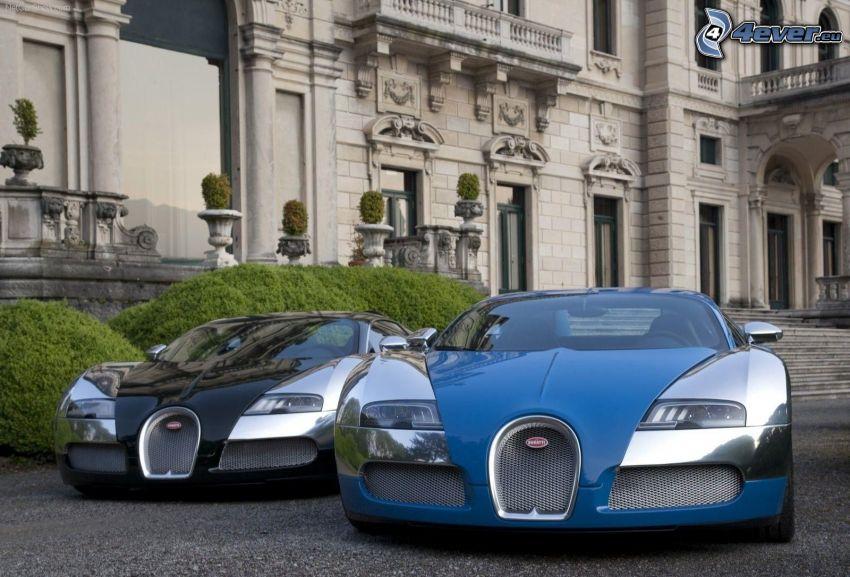 Bugatti Veyron, Gebäude
