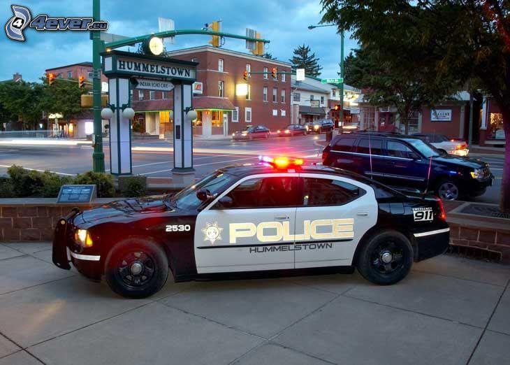 Dodge Challenger, Polizei