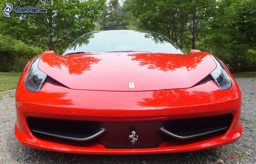 Ferrari, Vorderteil