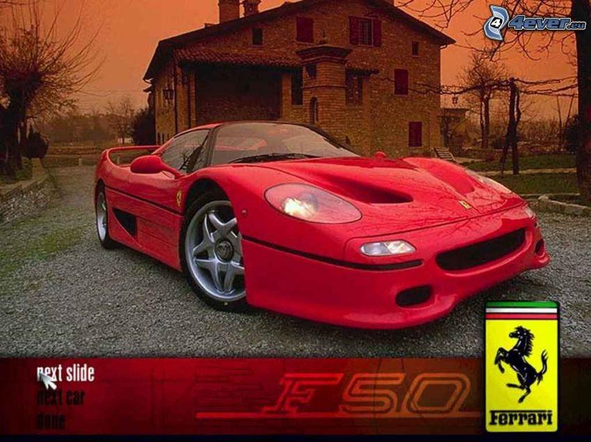 Ferrari F50, altes Haus