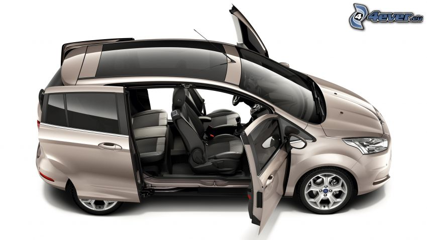 Ford B-Max, Tür, Panoramadach