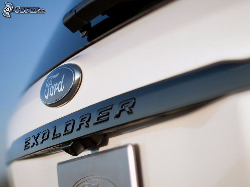 Ford Explorer, logo