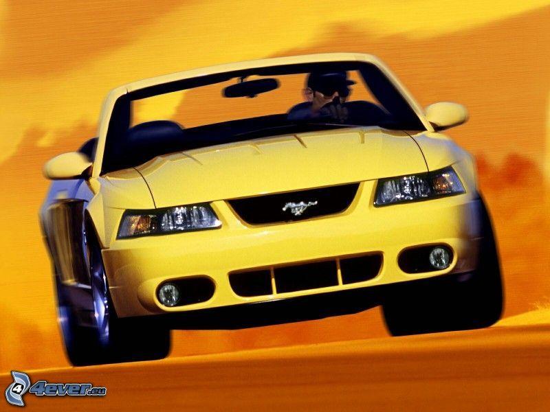 Ford Mustang SVT Cobra, Sand, Wüste