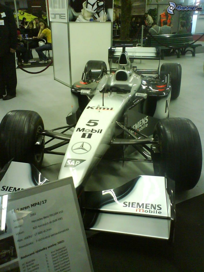 Formel 1, Formel, Ausstellung