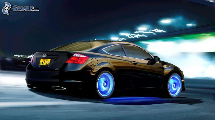 Honda, Geschwindigkeit