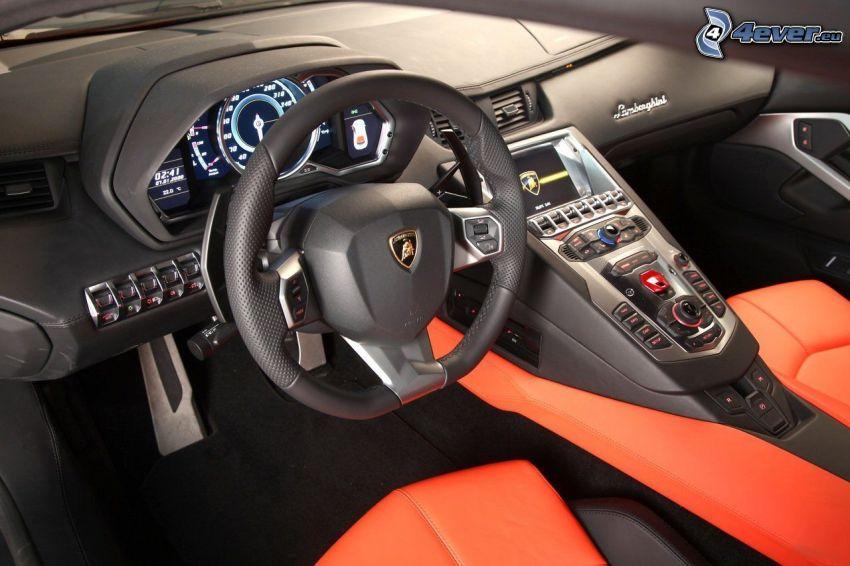 Innenraum Von Lamborghini Aventador