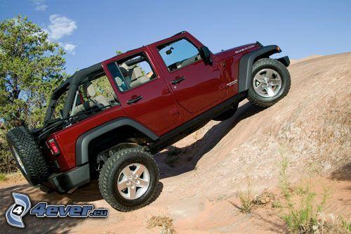 Jeep, Gelände