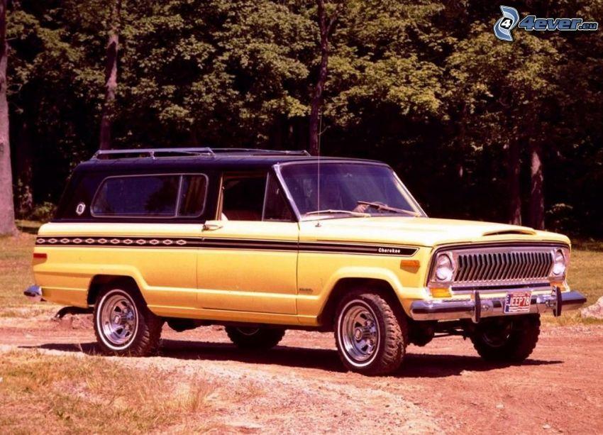 Jeep Cherokee, 1978