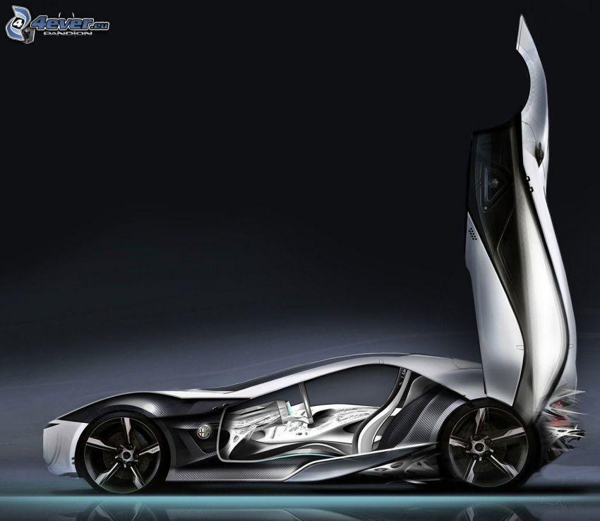 Alfa Romeo Pandion, Tür, Konzept