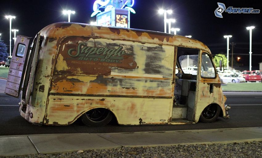 altes Auto, Van, lowrider