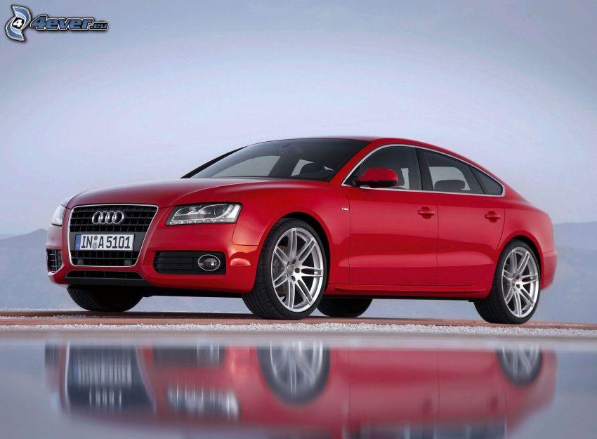 Audi A5, Spiegelung