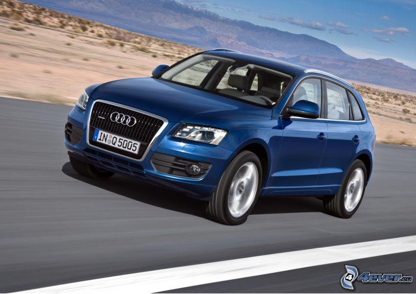 Audi Q5, Geschwindigkeit