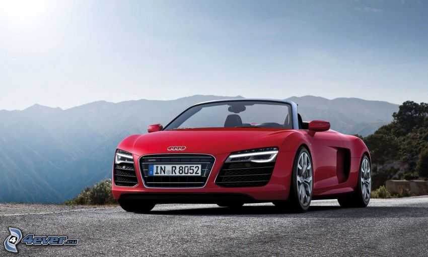 Audi R8, Berge