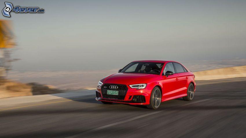 Audi RS3, Geschwindigkeit