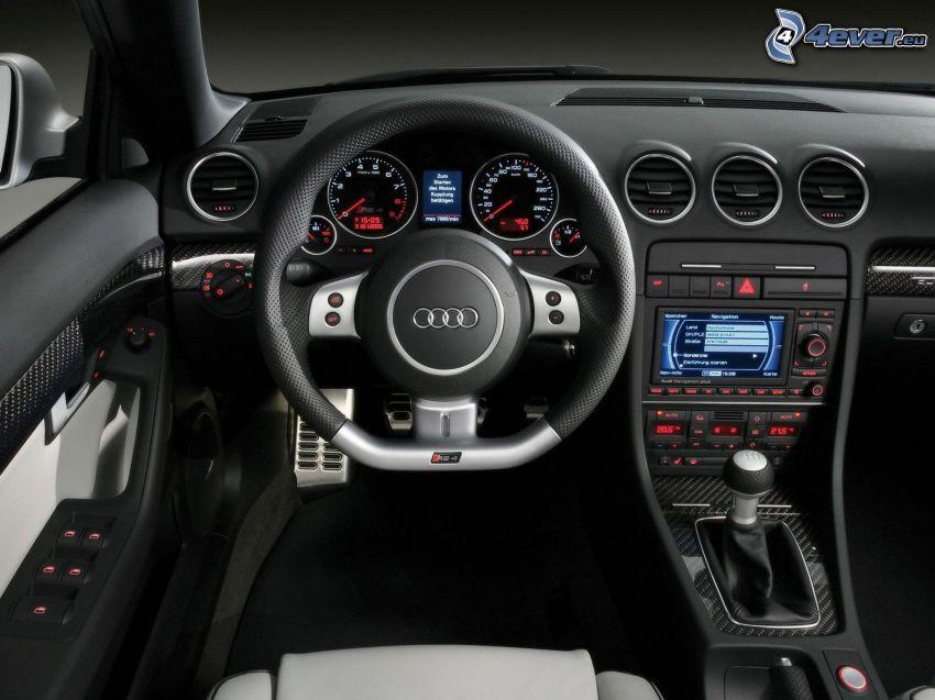 Audi RS4, Innenraum