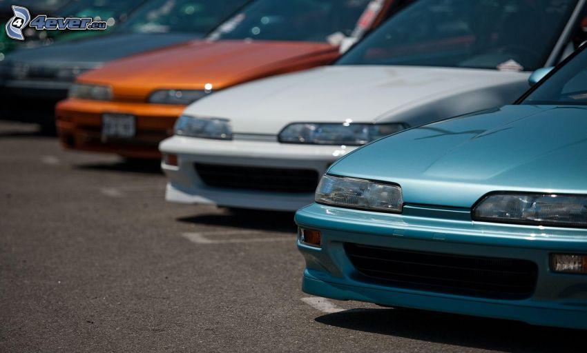 Autos, Parkplatz